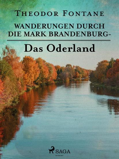 Wanderungen durch die Mark Brandenburg - Das Oderland - cover