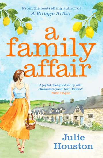 A Family Affair - the irresistibly funny heartwarming new read from bestselling author Julie Houston - cover