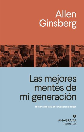 Las mejores mentes de mi generación - Historia literaria de la Generación Beat - cover