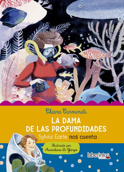 La dama de las profundidades - cover