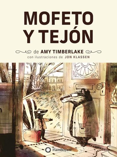 Mofeto y Tejón - cover