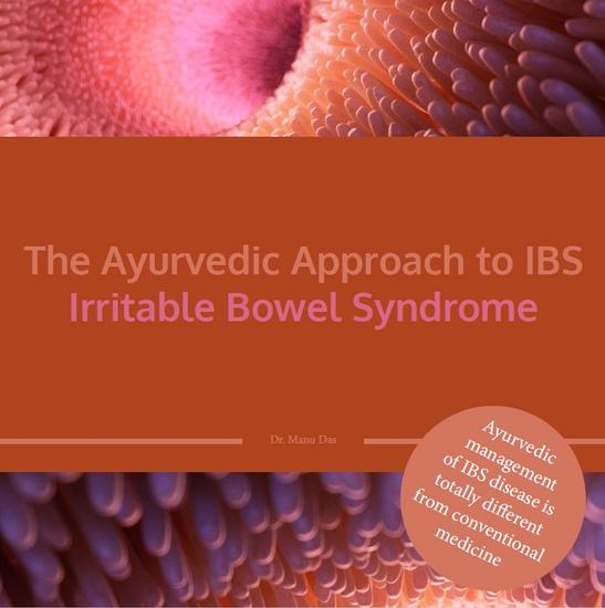 The Ayurvedic Approach to IBS Irritable Bowel Syndrome - cover