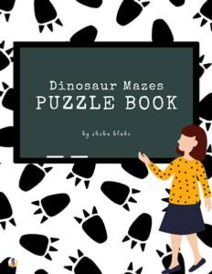 Dinosaur Mazes Puzzle Book for Kids Ages 3+ (Printable Version) - cover