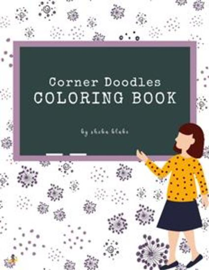 Corner Doodles Coloring Book for Teens (Printable Version) - cover