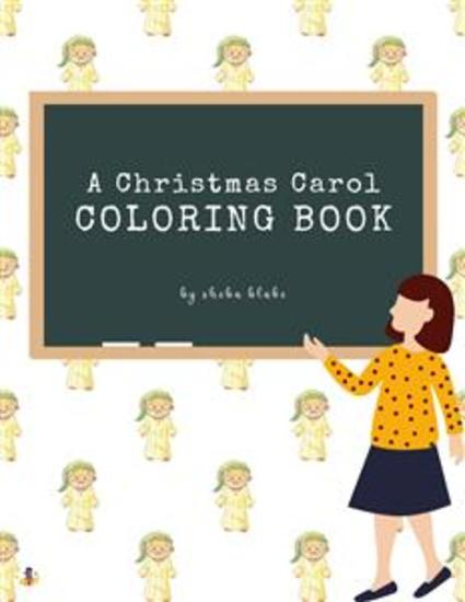 A Christmas Carol Coloring Book for Kids Ages 3+ (Printable Version) - cover