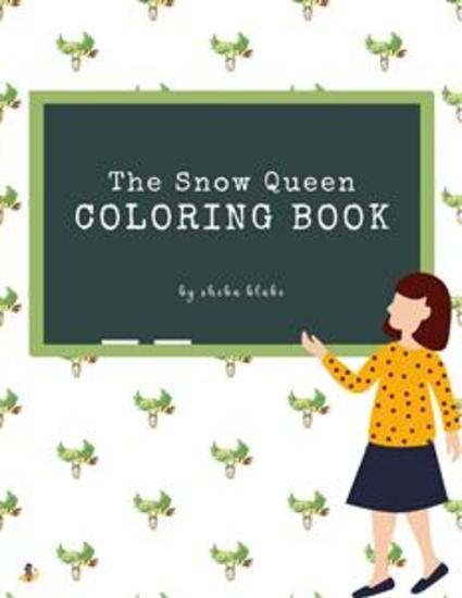 The Snow Queen Coloring Book for Kids Ages 3+ (Printable Version) - cover