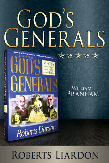 God's Generals: William Branham - cover