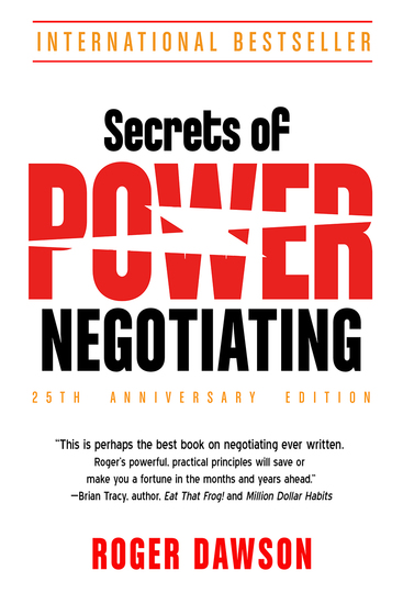 Secrets of Power Negotiating 25th Anniversary Edition - cover