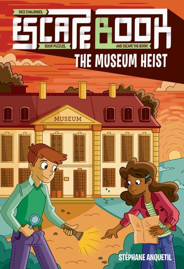 Escape Book - The Museum Heist - cover