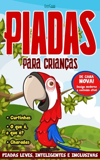 Piadas para Crianças Ed 52 - De Cara Nova! - cover