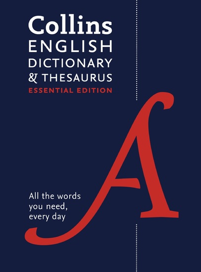 Collins English Dictionary and Thesaurus Essential - cover