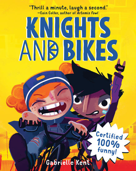Knights and Bikes - cover