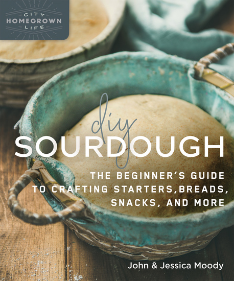 DIY Sourdough - The Beginner's Guide to Crafting Starters Bread Snacks and More - cover