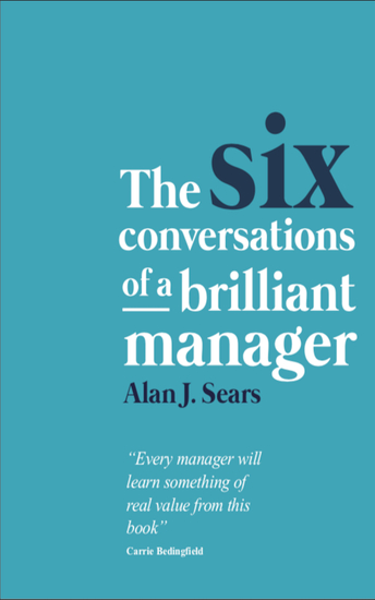 The Six Conversations of a Brilliant Manager - cover