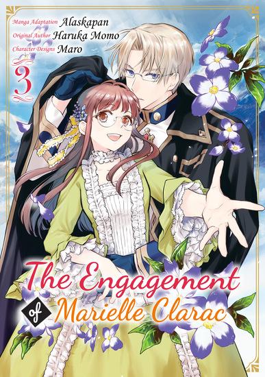 The Engagement of Marielle Clarac (Manga) Volume 3 - cover