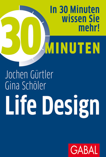 30 Minuten Life Design - cover