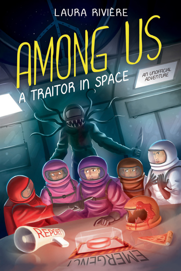 Among Us - A Traitor in Space - cover