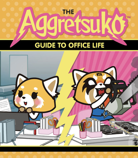 The Aggretsuko Guide to Office Life - cover