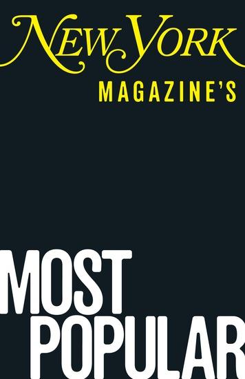 New York Magazine's Most Popular - cover
