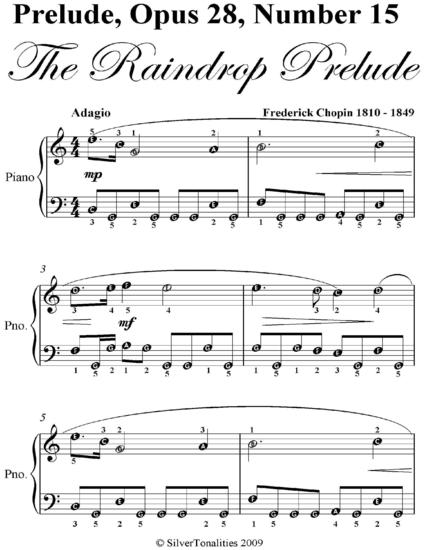chopin raindrop prelude essay