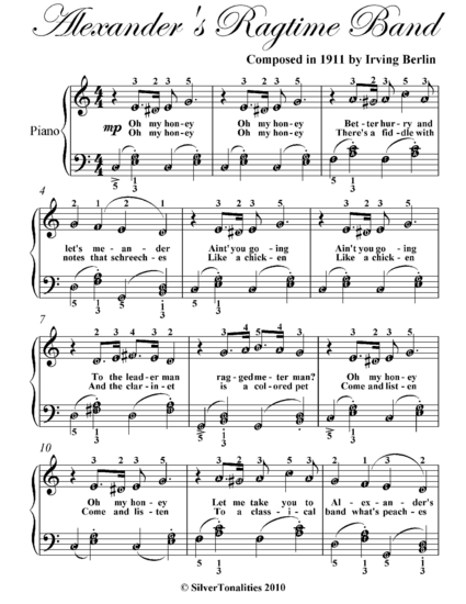 Ragtime music essay