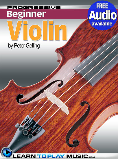 Violin Lessons for Beginners - Teach Yourself How to Play Violin (Free Audio Available) - cover
