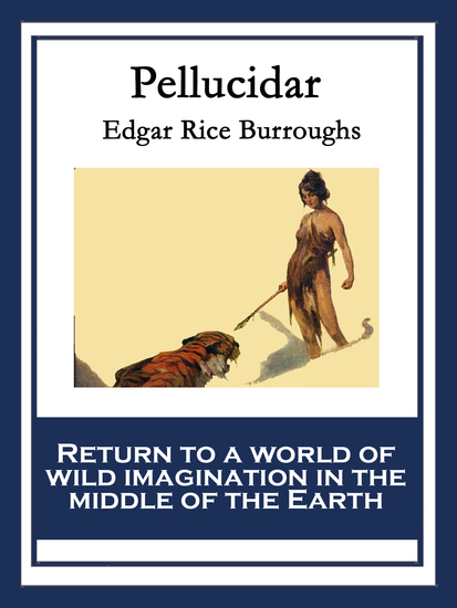 Pellucidar - With linked Table of Contents - cover