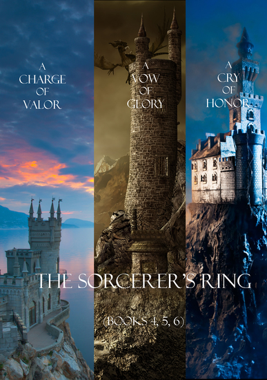Sorcerer's Ring Bundle (Books 4  5 and 6) - cover