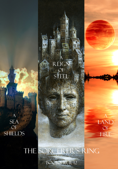 Sorcerer's Ring Bundle (Books 10 11 and 12) - cover