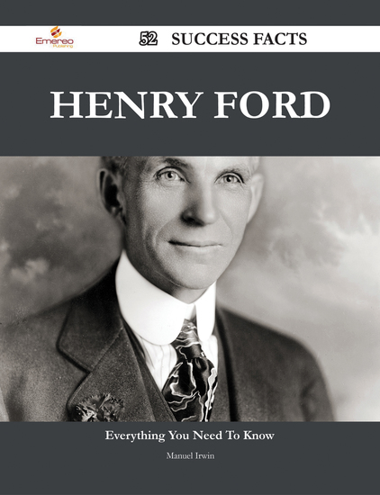 "essays henry ford biography Henry ford (1922) ""my life and work – an autobiography of henry ford the posted personal biography sample was written in accordance with general academic standards and our requirements the paper can't be used by anyone as it will be considered an unoriginal work."