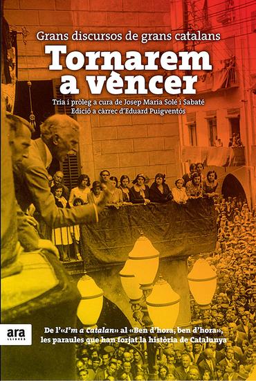 Tornarem a vèncer - Grans discursos de grans catalans - cover