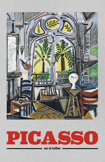 Picasso En el taller - cover
