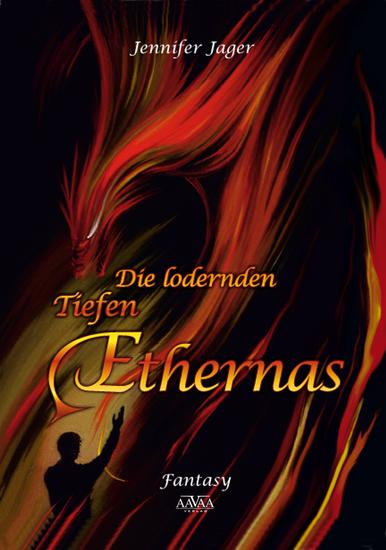 Die lodernden Tiefen Ethernas - cover