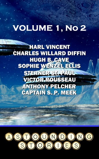 Astounding Stories - Volume 1 No 2 - Volume 1 Number 2 - cover