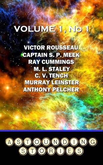 Astounding Stories - Volume 1 No 1 - Volume 1 Number 1 - cover