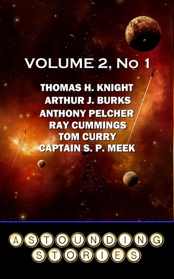 Astounding Stories - Volume 2 No 1 - Volume 2 Number 1 - cover