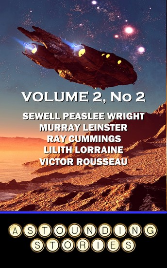Astounding Stories - Volume 2 No 2 - Volume 2 Number 2 - cover