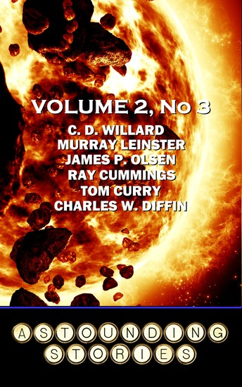 Astounding Stories - Volume 2 No 3 - Volume 2 Number 3 - cover