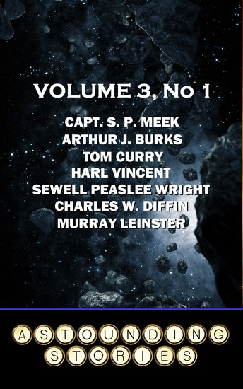 Astounding Stories - Volume 3 No 1 - Volume 3 Number 1 - cover