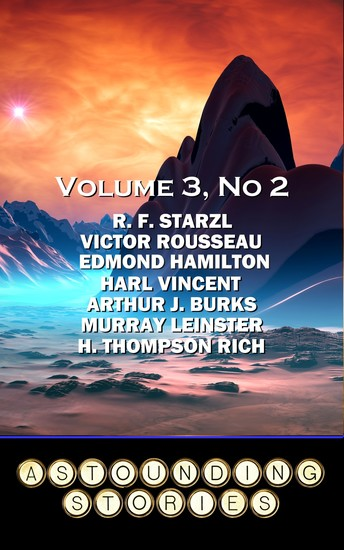 Astounding Stories - Volume 3 No 2 - Volume 3 Number 2 - cover