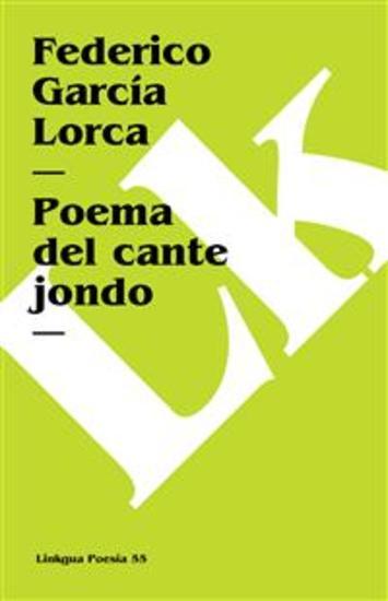 Poema del cante jondo - cover