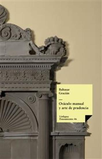 Oráculo manual y arte de prudencia - cover