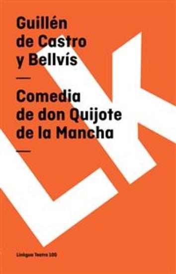 Comedia de don Quijote de la Mancha - cover