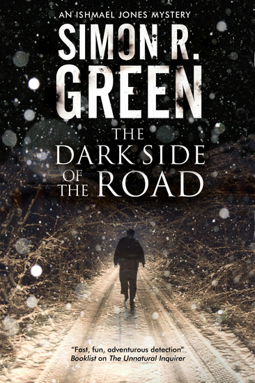 Dark Side of the Road The - A country house murder mystery with a supernatural twist - cover