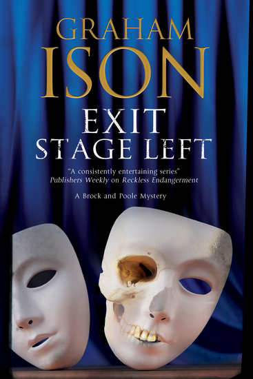 Exit Stage Left: A contemporary police procedural set in London and Paris - cover