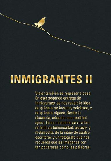 Inmigrantes II - Barranquilla Barcelona Boston Leipzig Londres - cover