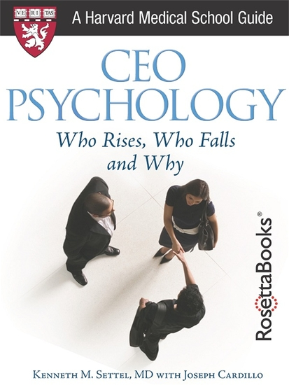 Ceo psychology: who rises who falls and why - cover