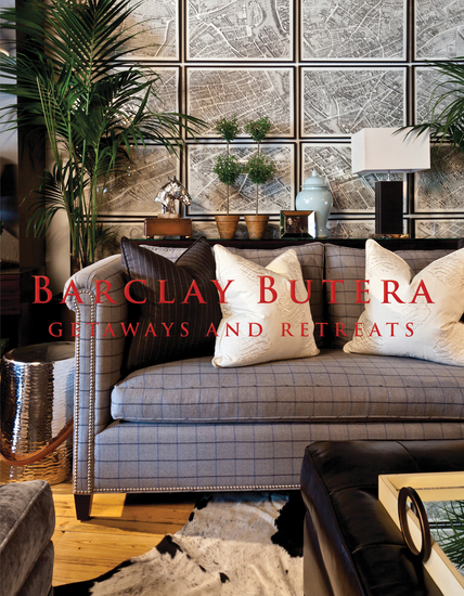Barclay Butera Getaways and Retreats - cover