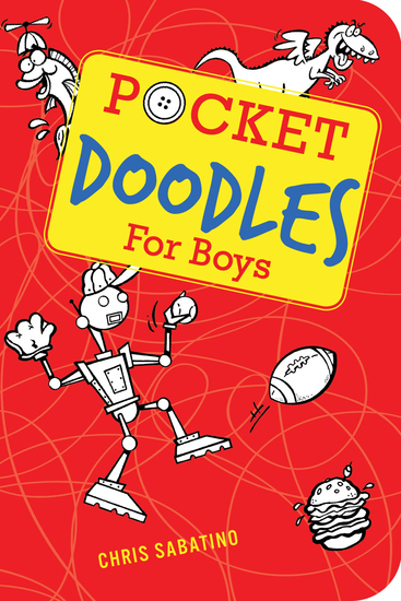 Pocketdoodles for Boys - cover