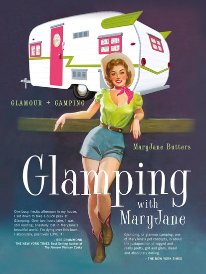 Glamping with Mary Jane - Glamour + Camping - cover